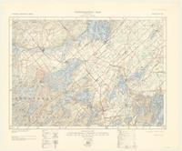Westport, ON. 1:63,360. Map sheet 031C09, [ed. 4], 1938