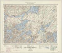 Westport, ON. 1:63,360. Map sheet 031C09, [ed. 5], 1949