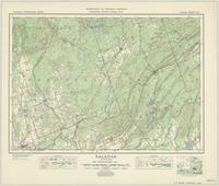 Kaladar, ON. 1:63,360. Map sheet 031C11, [ed. 1], 1947