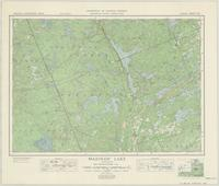 Mazinaw Lake, ON. 1:63,360. Map sheet 031C14, [ed. 1], 1947