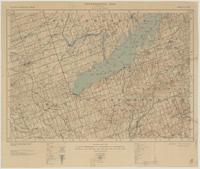 Rice Lake, ON. 1:63,360. Map sheet 031D01, [ed. 5], 1942
