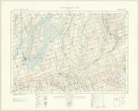 Scugog, ON. 1:63,360. Map sheet 031D02, [ed. 2], 1938