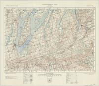 Scugog, ON. 1:63,360. Map sheet 031D02, [ed. 3], 1940