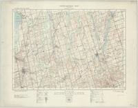 Newmarket, ON. 1:63,360. Map sheet 031D03, [ed. 1], 1929