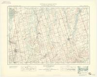 Newmarket, ON. 1:63,360. Map sheet 031D03, [ed. 2], 1935