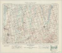 Newmarket, ON. 1:63,360. Map sheet 031D03, [ed. 3], 1939