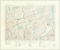 Alliston, ON. 1:63,360. Map sheet 031D04, [ed. 3], 1937
