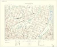 Alliston, ON. 1:63,360. Map sheet 031D04, [ed. 4], 1938