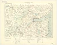 Barrie, ON. 1:63,360. Map sheet 031D05, [ed. 2], 1932