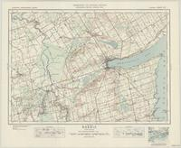 Barrie, ON. 1:63,360. Map sheet 031D05, [ed. 5], 1943
