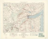 Barrie, ON. 1:63,360. Map sheet 031D05, [ed. 6], 1950