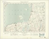 Beaverton, ON. 1:63,360. Map sheet 031D06, [ed. 2], 1935