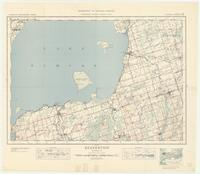 Beaverton, ON. 1:63,360. Map sheet 031D06, [ed. 3], 1939