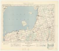 Beaverton, ON. 1:63,360. Map sheet 031D06, [ed. 3], 1939