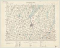Lindsay, ON. 1:63,360. Map sheet 031D07, [ed. 2], 1938