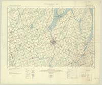 Lindsay, ON. 1:63,360. Map sheet 031D07, [ed. 3], 1939