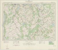 Orr Lake, ON. 1:63,360. Map sheet 031D12, [ed. 1], 1950
