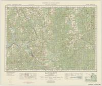 Bancroft, ON. 1:63,360. Map sheet 031F04, [ed. 1], 1948