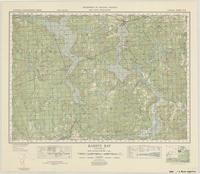 Barry's Bay, ON. 1:63,360. Map sheet 031F05, [ed. 1], 1948
