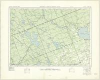 Round Lake, ON. 1:63,360. Map sheet 031F12, [ed. 2], 1951