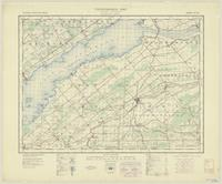Huntingdon, ON. 1:63,360. Map sheet 031G01, [ed. 5], 1944