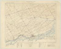 Cornwall, ON. 1:63,360. Map sheet 031G02, [ed. 1], 1909