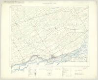 Cornwall, ON. 1:63,360. Map sheet 031G02, [ed. 4], 1928