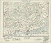 Cornwall, ON. 1:63,360. Map sheet 031G02, [ed. 5], 1937