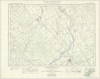 Kemptville, ON. 1:63,360. Map sheet 031G04, [ed. 4], 1936