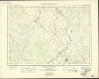 Kemptville, ON. 1:63,360. Map sheet 031G04, [ed. 5], 1938