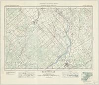 Kemptville, ON. 1:63,360. Map sheet 031G04, [ed. 6], 1940