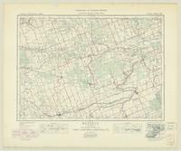 Russell, ON. 1:63,360. Map sheet 031G06, [ed. 5], 1939