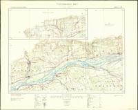 Thurso, ON. 1:63,360. Map sheet 031G11, [ed. 4], 1933