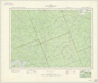 Brent, ON. 1:63,360. Map sheet 031L01, [ed. 1], 1949