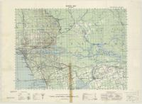 North Bay, ON. 1:63,360. Map sheet 031L06, [ed. 1], 1943