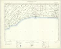 Port Stanley, ON. 1:63,360. Map sheet 040I11, [ed. 5], 1938