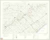 Bothwell, ON. 1:63,360. Map sheet 040I12, [ed. 3], 1931