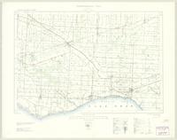 Essex, ON. 1:63,360. Map sheet 040J02, [ed. 3], 1930