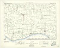 Essex, ON. 1:63,360. Map sheet 040J02, [ed. 4], 1936