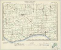 Essex, ON. 1:63,360. Map sheet 040J02, [ed. 5], 1940