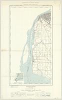 Windsor, ON. 1:63,360. Map sheet 040J03-J06, [ed. 1], 1939