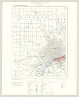 Windsor, ON. 1:63,360. Map sheet 040J06, [ed. 2], 1923