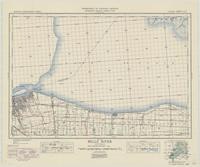 Belle River, ON. 1:63,360. Map sheet 040J07, [ed. 4], 1940