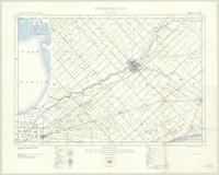 Chatham, ON. 1:63,360. Map sheet 040J08, [ed. 4], 1938