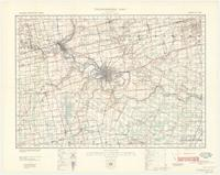 Brantford, ON. 1:63,360. Map sheet 040P01, [ed. 5], 1940