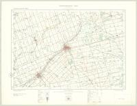 Woodstock, ON. 1:63,360. Map sheet 040P02, [ed. 2], 1922