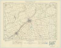 Woodstock, ON. 1:63,360. Map sheet 040P02, [ed. 3], 1935