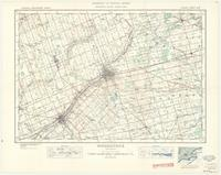 Woodstock, ON. 1:63,360. Map sheet 040P02, [ed. 4], 1938