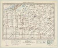 Parkhill, ON. 1:63,360. Map sheet 040P04, [ed. 6], 1947
