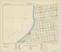 Grand Bend, ON. 1:63,360. Map sheet 040P05, [ed. 2], 1938